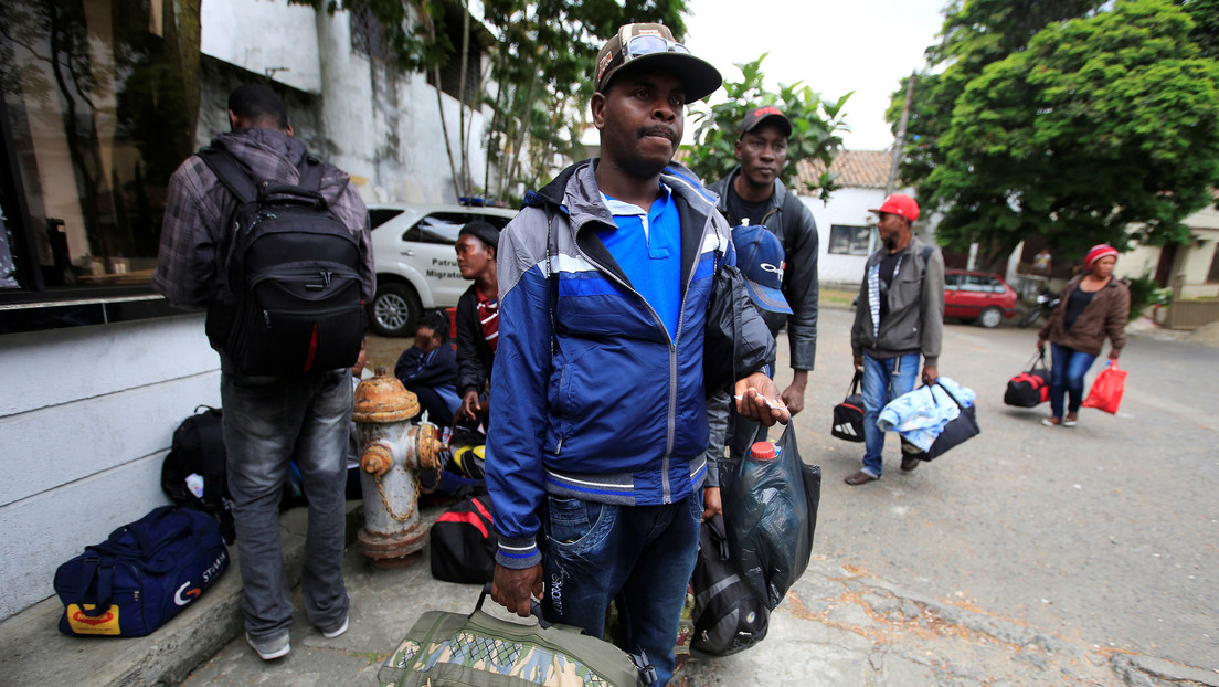 """The small Colombian city that 800 immigrants arrive every day and cross """"The worst crisis in its history"""""""