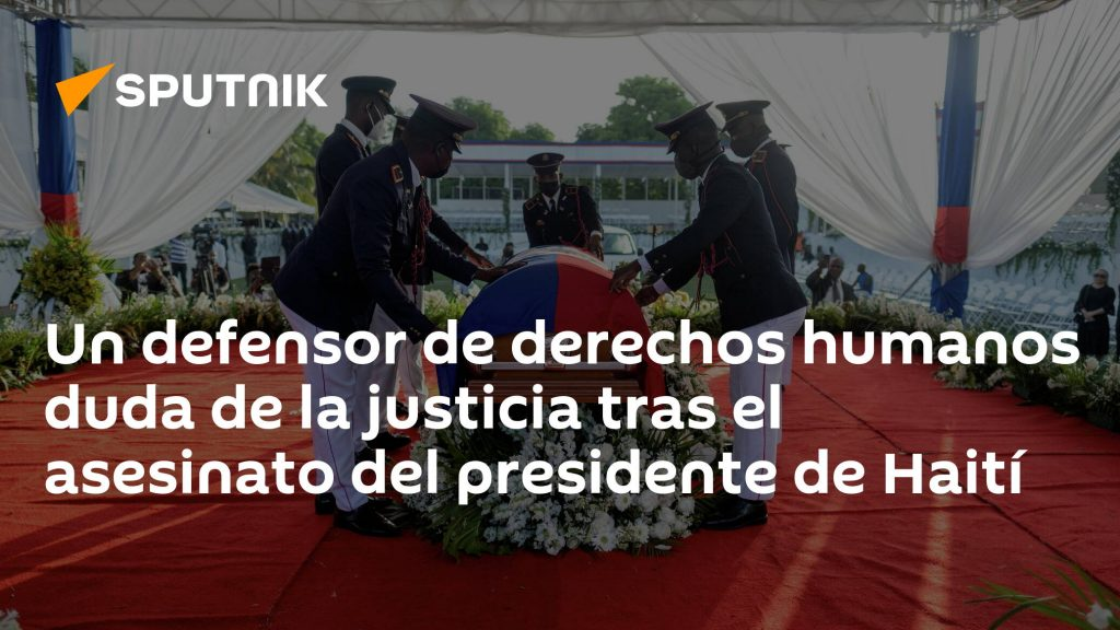 Human rights defender doubts justice after assassination of Haitian president