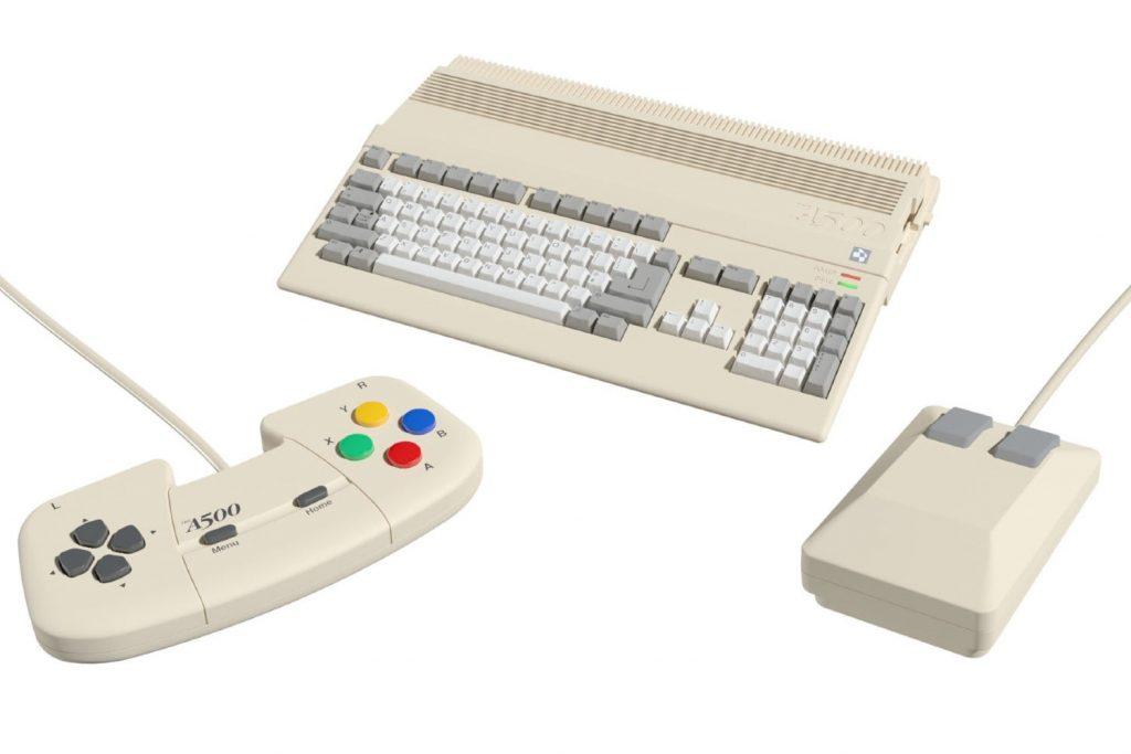 Commodore's Amiga 500 computer returns in mini format