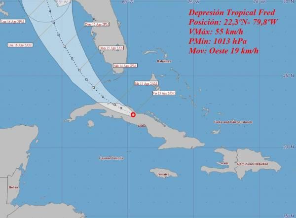 A unique tropical depression passes over the province of Villa Clara - Juventud Rebeldi
