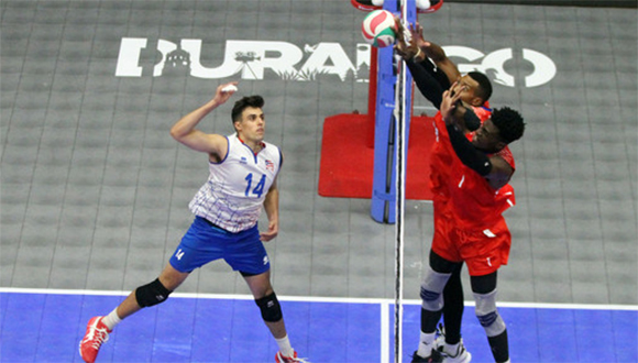Cubans discuss bronze in volleyball Norseca after their loss to Puerto Rico