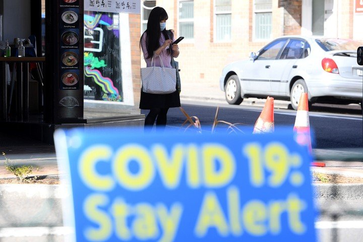 Sydney is one of the cities hardest hit by the corona virus outbreak.  Photo / EFE