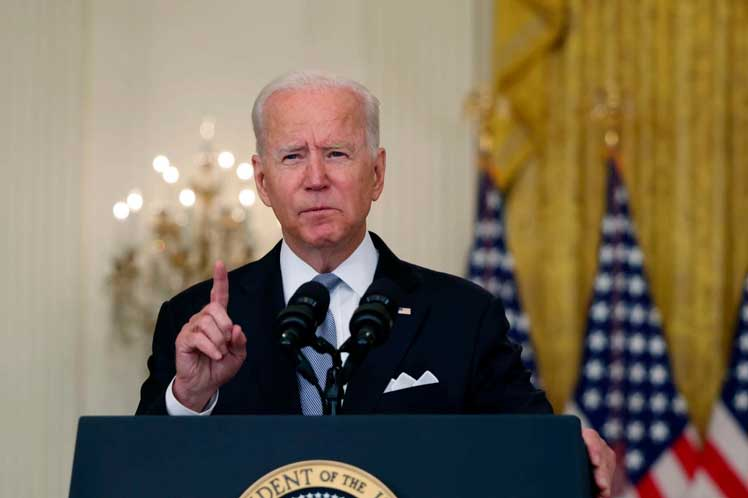 Biden said Prinsa Latina that the US withdrawal from Afghanistan depends on the Taliban
