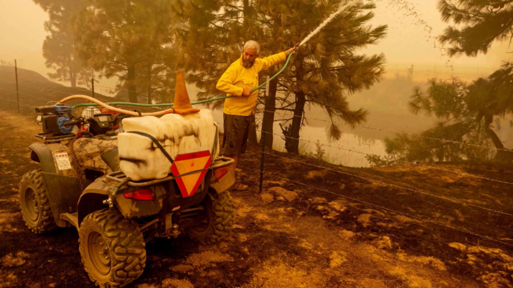 The Dixie fire is growing relentlessly in California