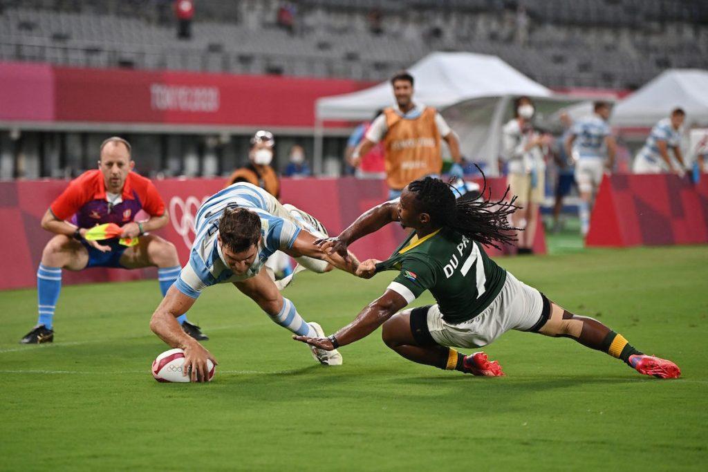 Fiji-Argentina and New Zealand-Great Britain, Men's Sevens Semi-Finals    எருக்பியா