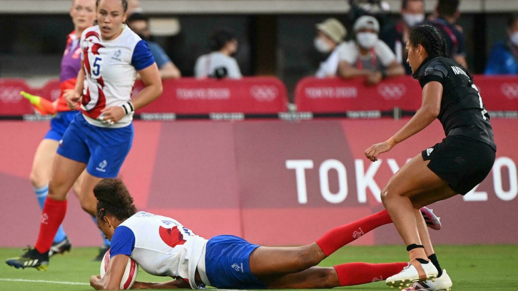 New Zealand Gold, France Silver and Fiji Bronze in Women's Rugby 7