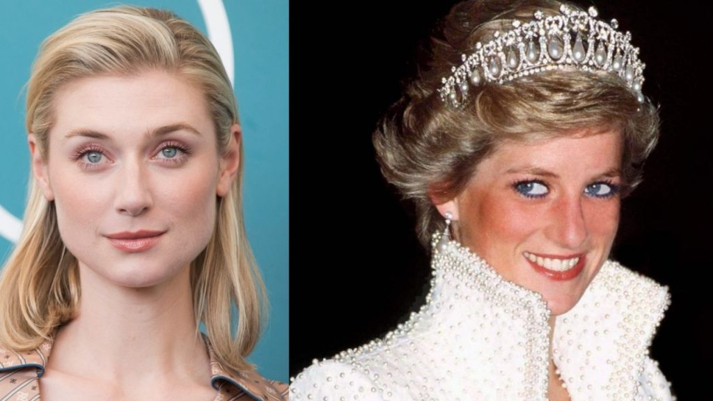The first pictures of Elizabeth Debicki as Princess Diana in The Crown
