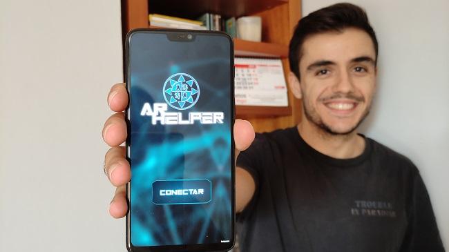 Una aplicación móvil utilizará la realidad aumentada para mejorar la experiencia de asistencia remota