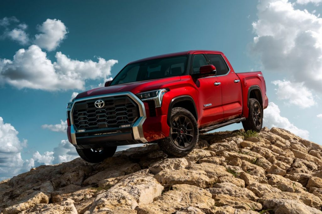 Toyota Tundra 2022. / Foto: Cortesía Toyota.