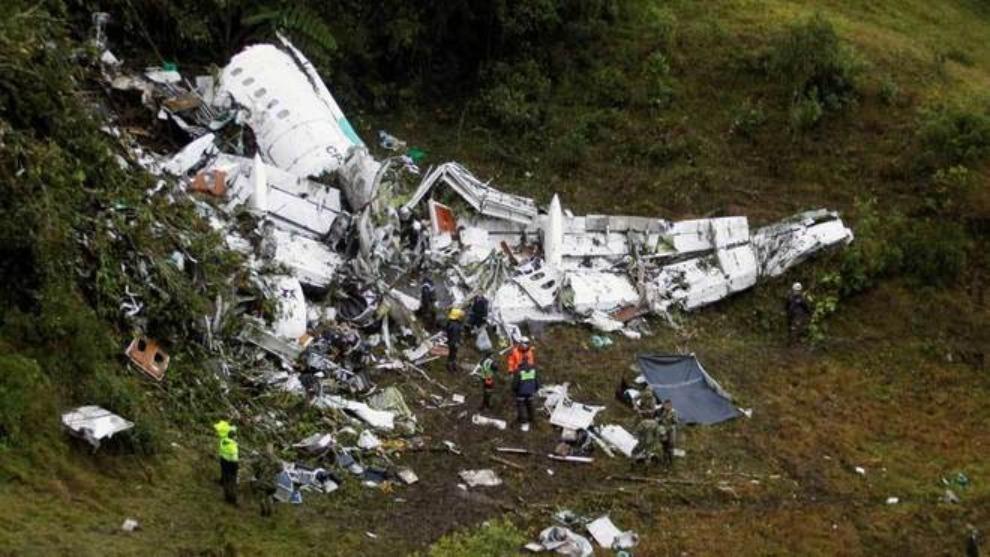 Accidente de Chapecoense en Colombia