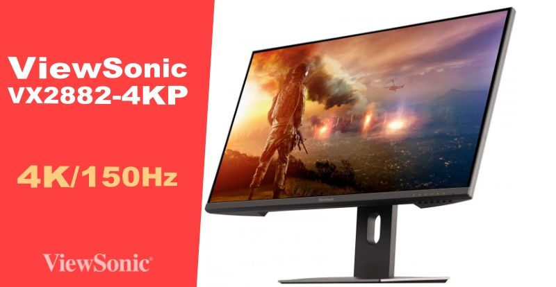 ViewSonic launches 28-inch + 150Hz 4K monitor with PS5 support