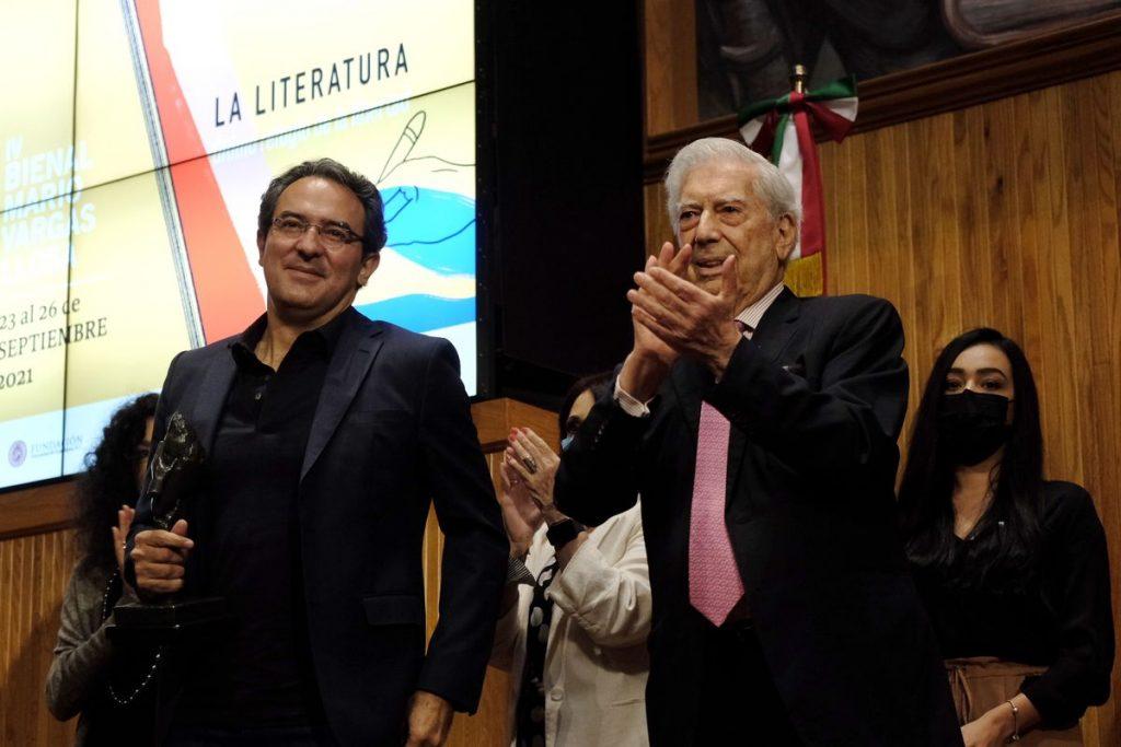 Colombian Juan Gabriel Vazquez wins Mario Vargas Llosa Biennale for Fiction    civilization