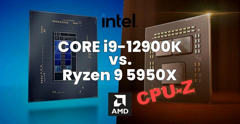 Core i9-12900K is 27% faster than the single-core Ryzen 5950X processor
