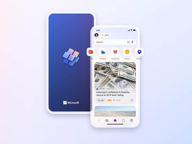Microsoft Start mobile app icon