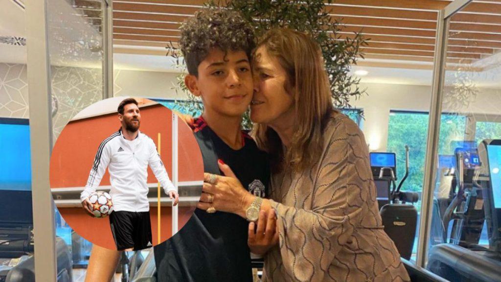 Cristiano Ronaldo's son's reaction when he met Messi: 'He's too short': Cristiano Ronaldo's son's reaction when he met Messi: 'He's too short'