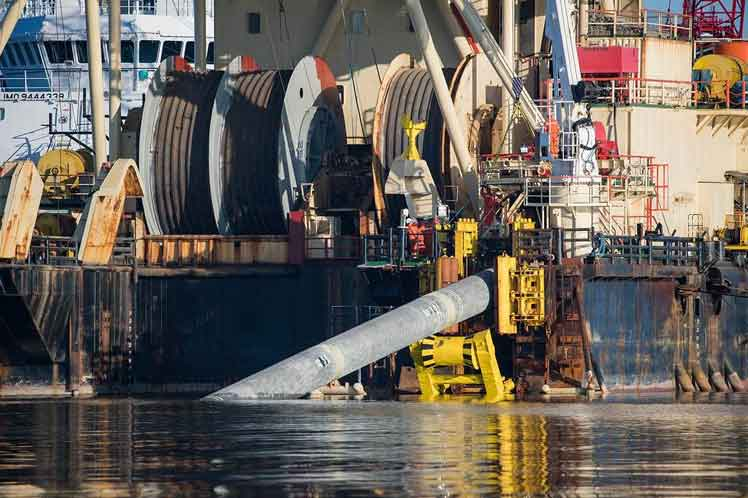 Final welding concluded for Nord Stream 2 gas pipeline tubes - Prensa Latina