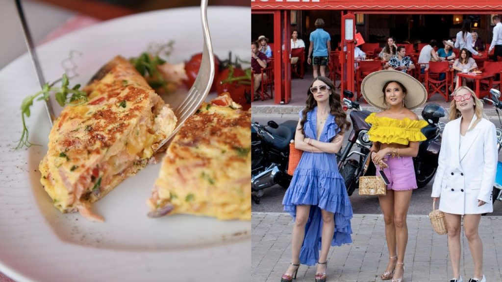 French omelette, prepare this dish while waiting for Emlily's premiere in Paris