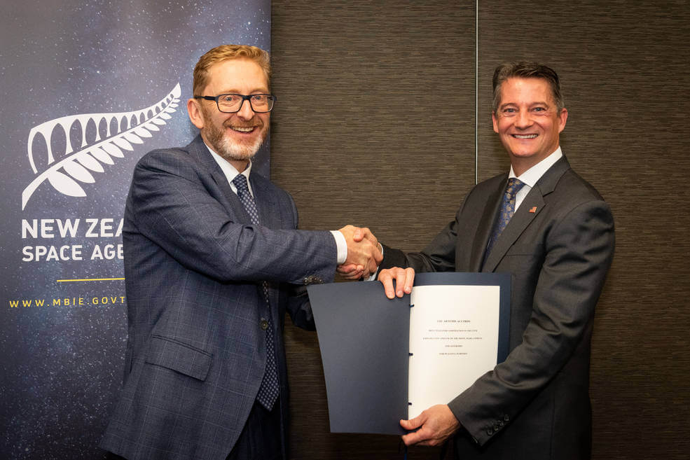 New Zealand Artemisia signs agreements - Space News