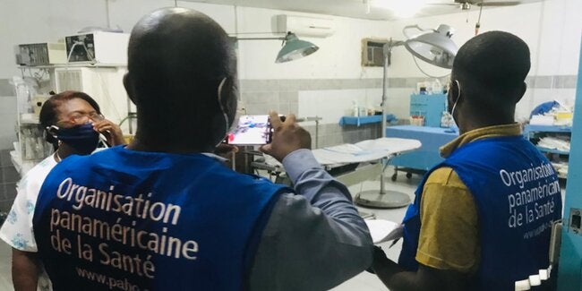 """PAHO launches the """"Managing Health Technologies"""" virtual course to strengthen capacities on this topic in Haiti - PAHO/WHO"""