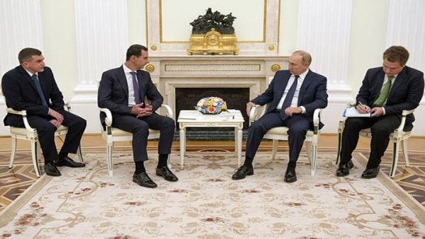 Radio Havana Cuba    The Syrian President meets Putin in Moscow and accuses the West of obstructing the peace process in his country