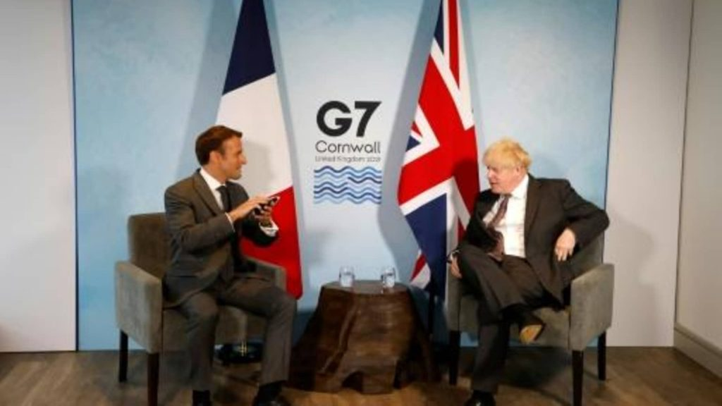 Relations between France and the United Kingdom deteriorate most after the Australian submarine affair