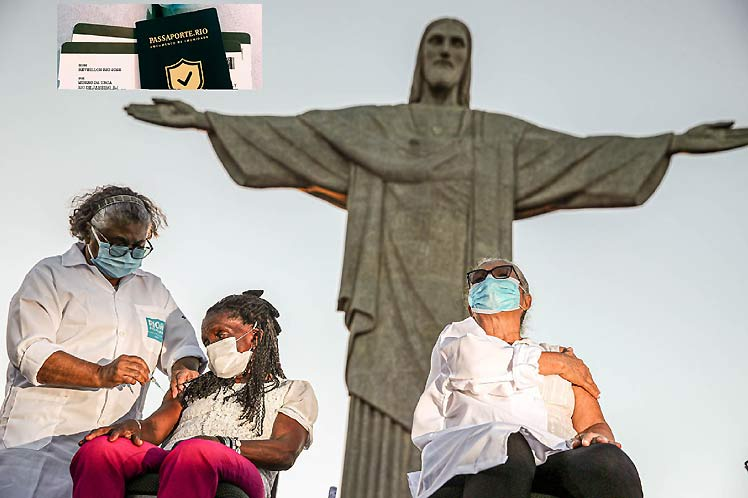 The Covid-19 vaccination passport has entered into force in Brazil in Rio