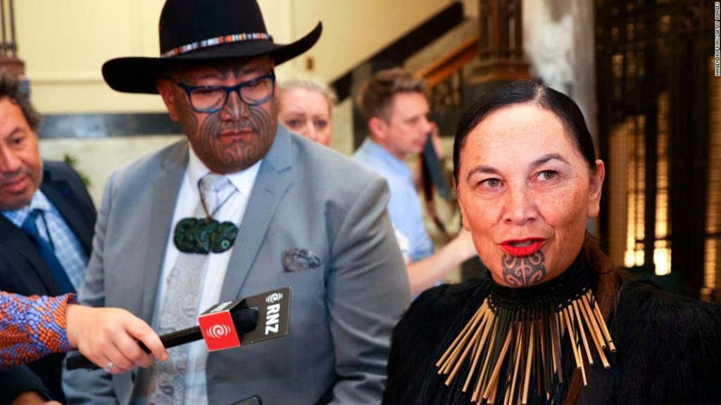 The Maori Party proposes to change the name of New Zealand