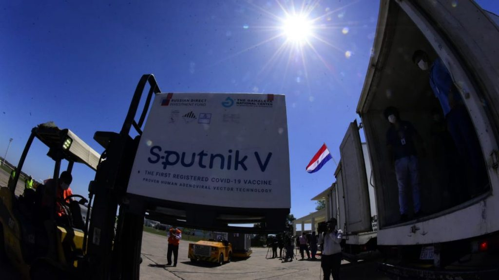 The Ministry of Health launches the second batch of Sputnik V vaccines