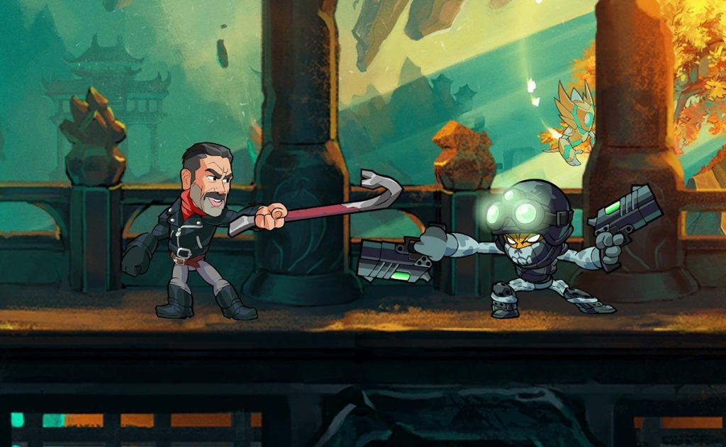 The Walking Dead returns to Brawlhalla with Negan and Maggie
