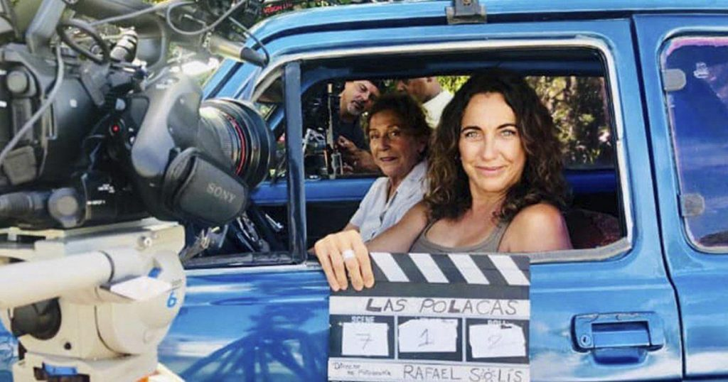 """They released the trailer for """"Las polacas"""", a short film starring Tahime Alfareño and Coralita Fellowes."""