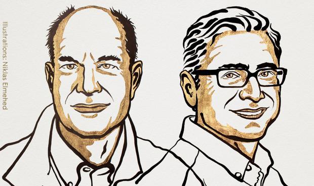 David Julius and Erdem Patbutian.  (Nobel prize)