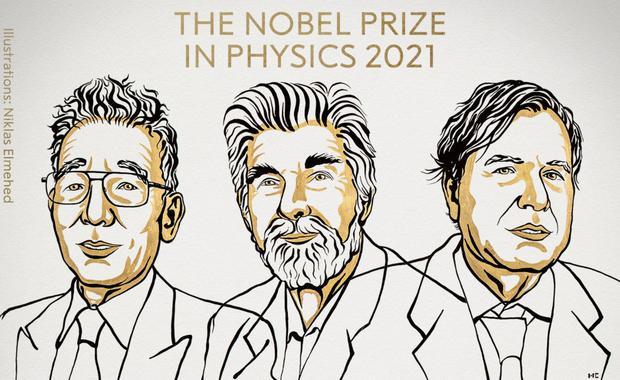 The 2021 Nobel Prize in Physics (Photo: Nobel Prize)