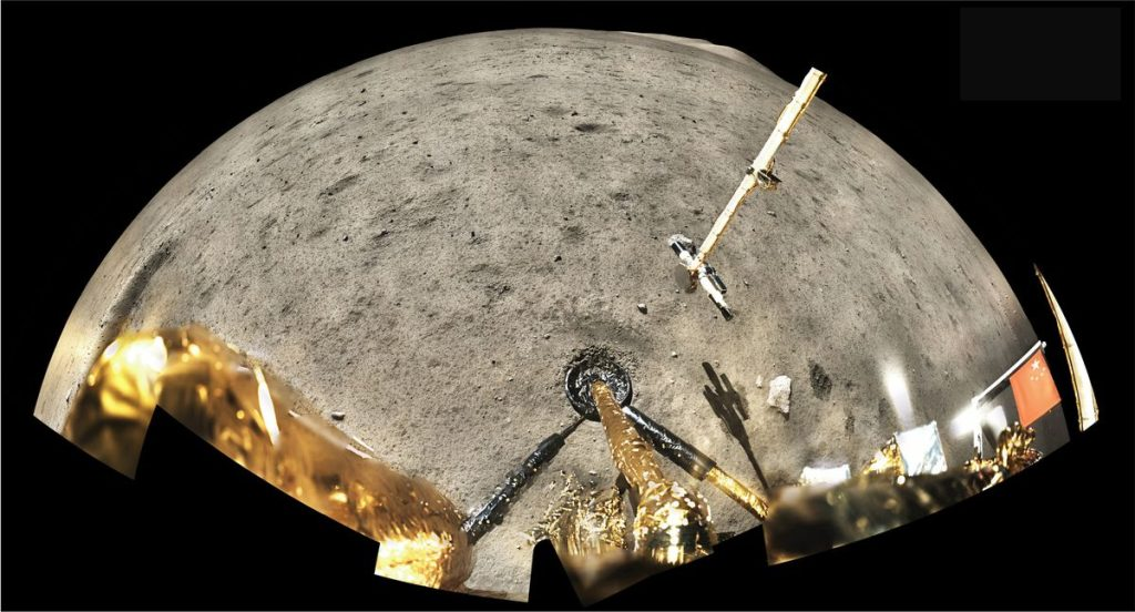 The rocks brought by China show that the moon maintained its volcanic activity until more recent dates. Science