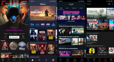 Netflix Disney Plus Amazon Prime Video Hbo