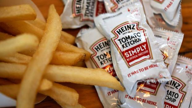 The epidemic caused a shortage of ketchup while increasing the demand for ready meals.  (Getty Images).
