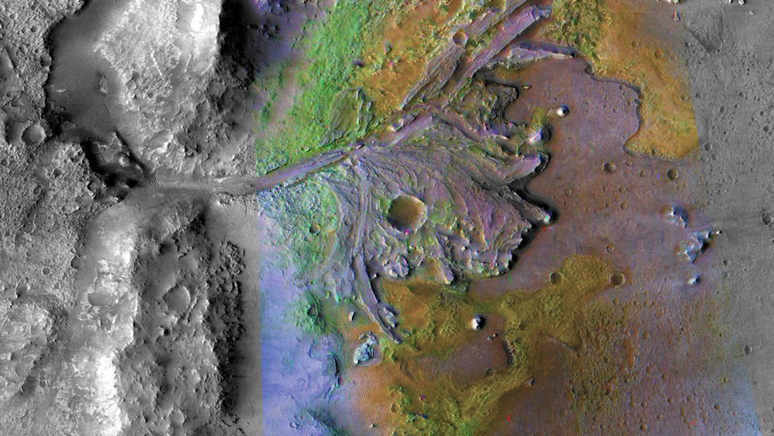 Persistent rover images reveal how water helped shape Mars' landscapes billions of years ago