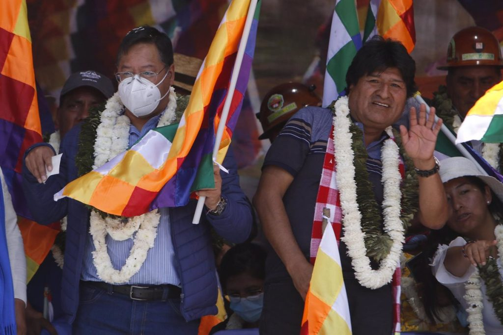Bolivia.  - Arsa defends indigenous people on a day of support for wiphala in the Bolivian city of Santa Cruz