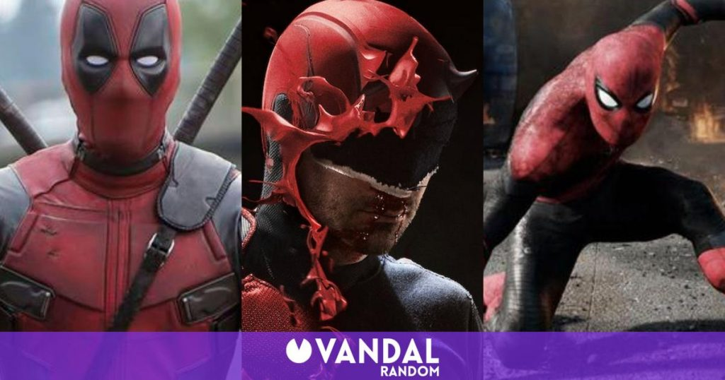 Daredevil on Disney + and with a crossover with Deadpool and Spider-Man, a fan's dream
