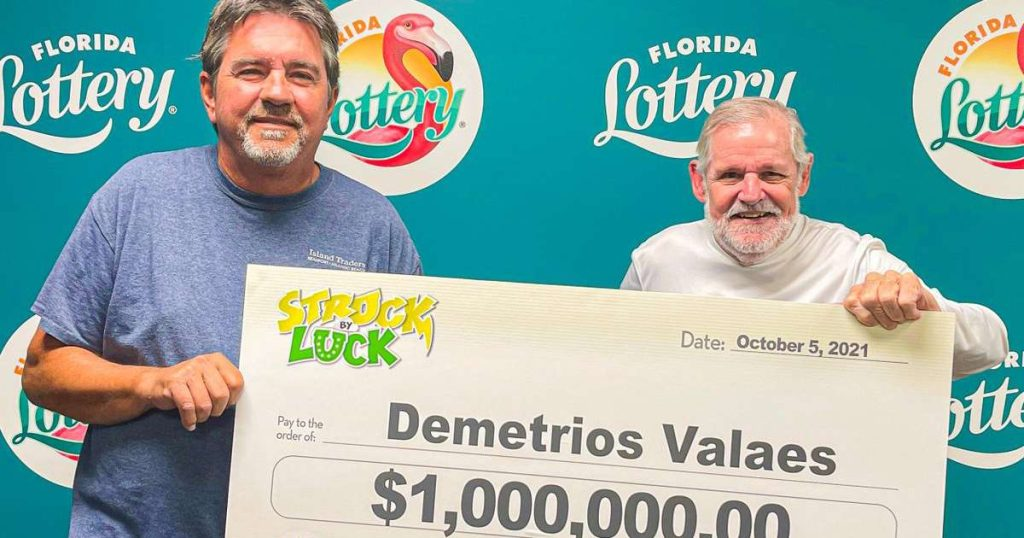 Florida man changes stores to buy a scraper and wins $1 million