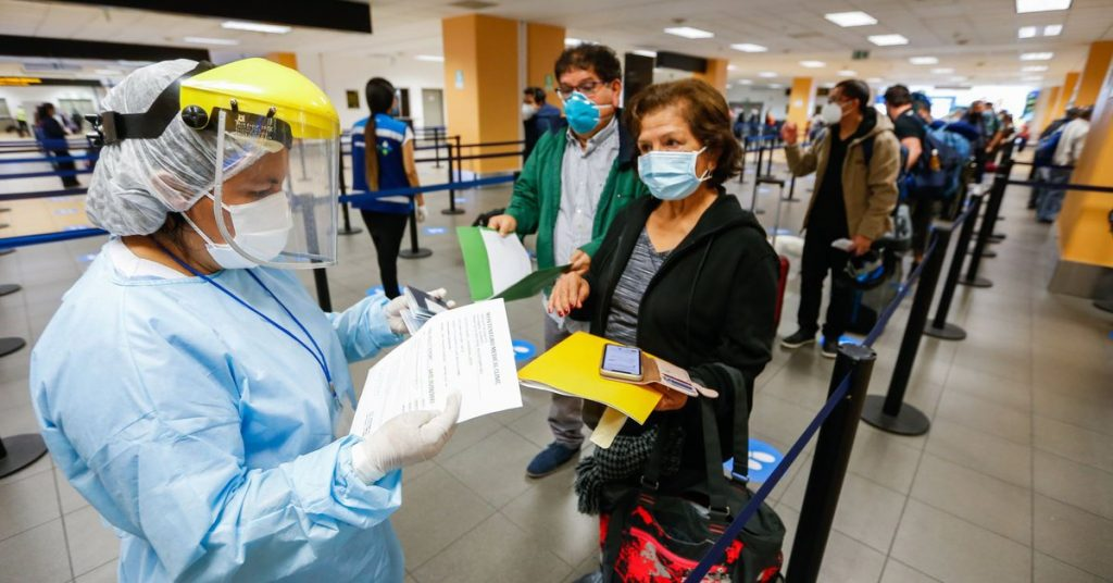 How to make a health statement for air travel in the epidemic?