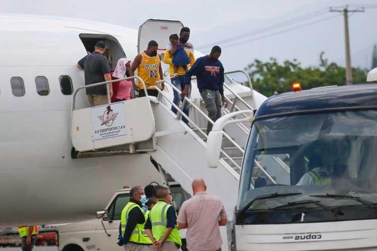 Immigration and the United States apologize for the media agenda in Haiti - Prinsa Latina
