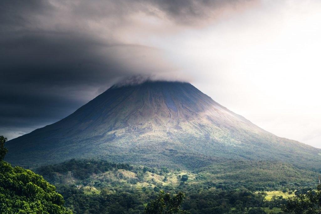 Is there a risk of a volcanic eruption on the peninsula?