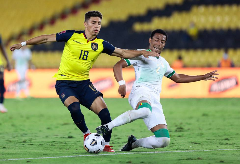 Jeremy Sarmiento made his debut for the Ecuadorean national team.  In a 3-0 win over Bolivia in the Qatar 2022 qualifiers    football    Sports