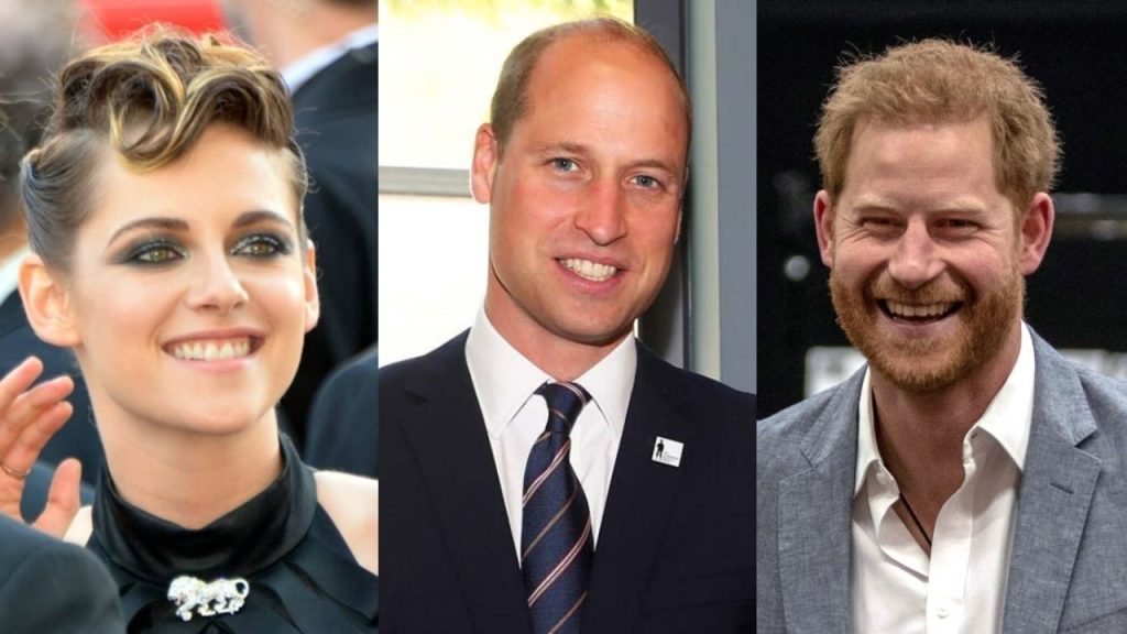 Kristen Stewart's message to Princes William and Harry after she played Princess Diana in Spencer