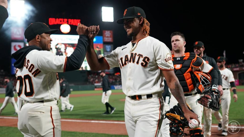 Logan Webb leads San Francisco Giants to 4-0 win over Dodgers    Other sports    Sports