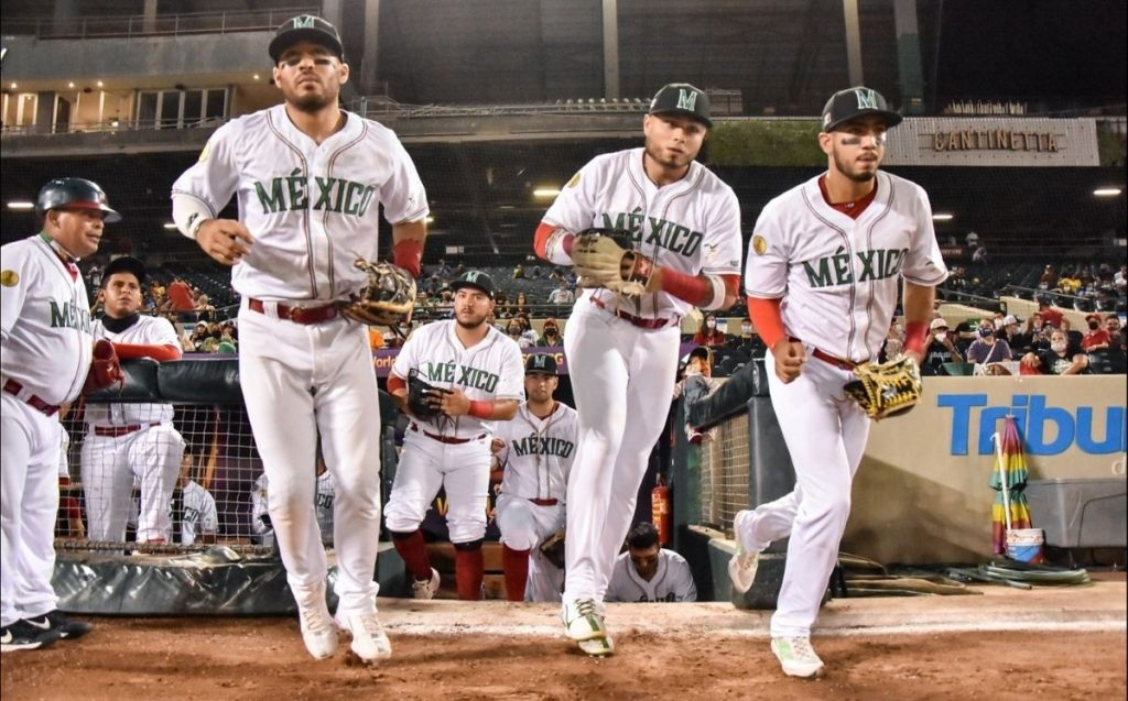 Mexico at the U-23 World Baseball Championship vs.  Venezuela