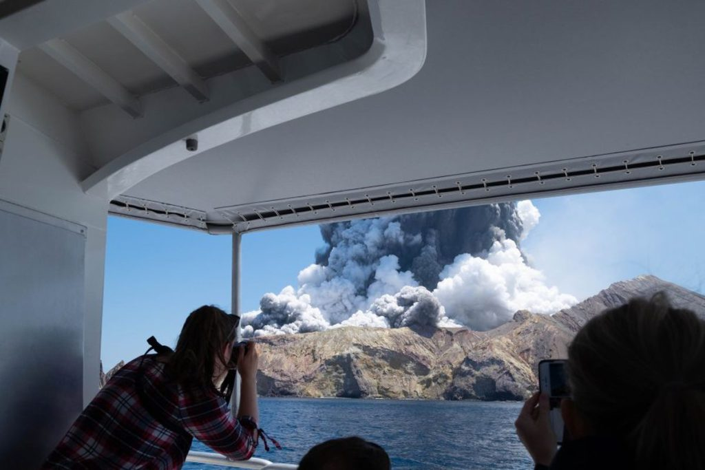 New Zealand 13 cases for death of 22 tourists in volcanic eruption |  International