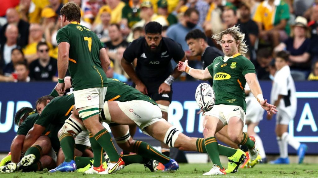 New Zealand and South Africa put an end to rugby championship, live on Star + on Saturday at 6:50