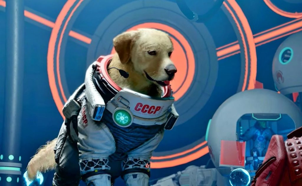 Pups take over the latest Guardians of the Galaxy movie