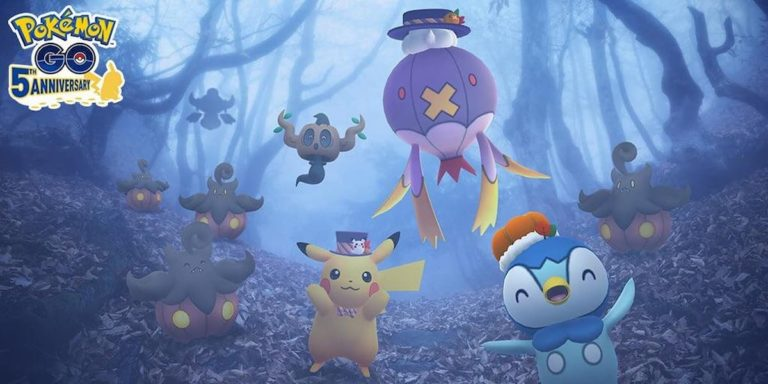Slowking de Galar, Pumpkaboo, and Phantump will debut at Halloween Pranks event in Pokémon Go